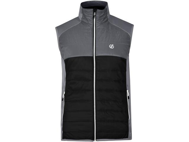 Dare 2b Coordinate Wollen Vest Heren, black/aluminium grey/ebony grey